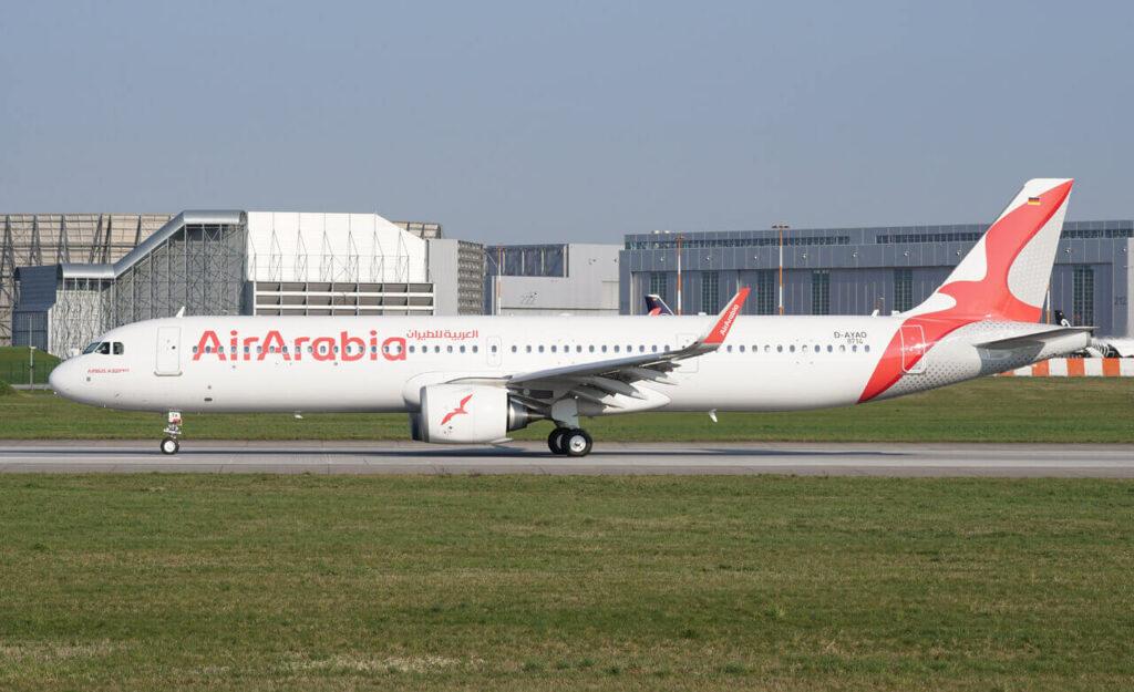 Airbus A321 251NXLR Air Arabia A6 ATA
