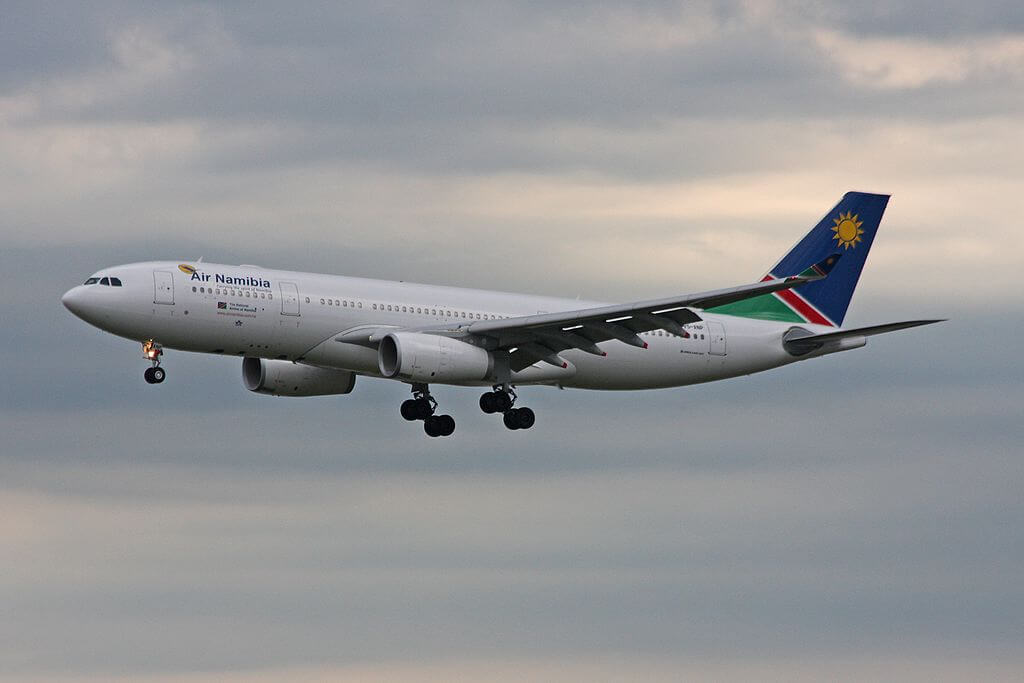 Air Namibia Airbus A330 243 V5 ANP at Frankfurt Airport