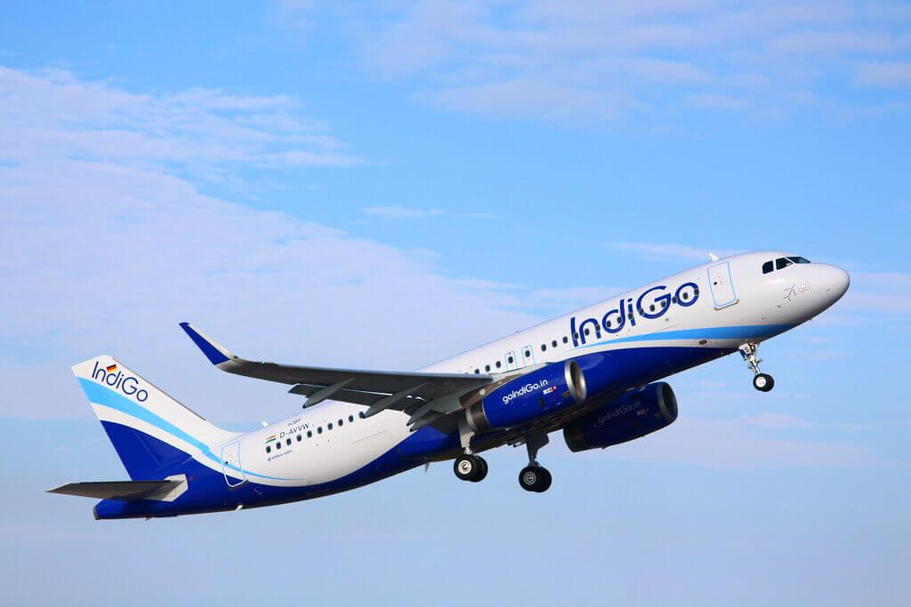 Airbus A320ceo IndiGo VT IAS
