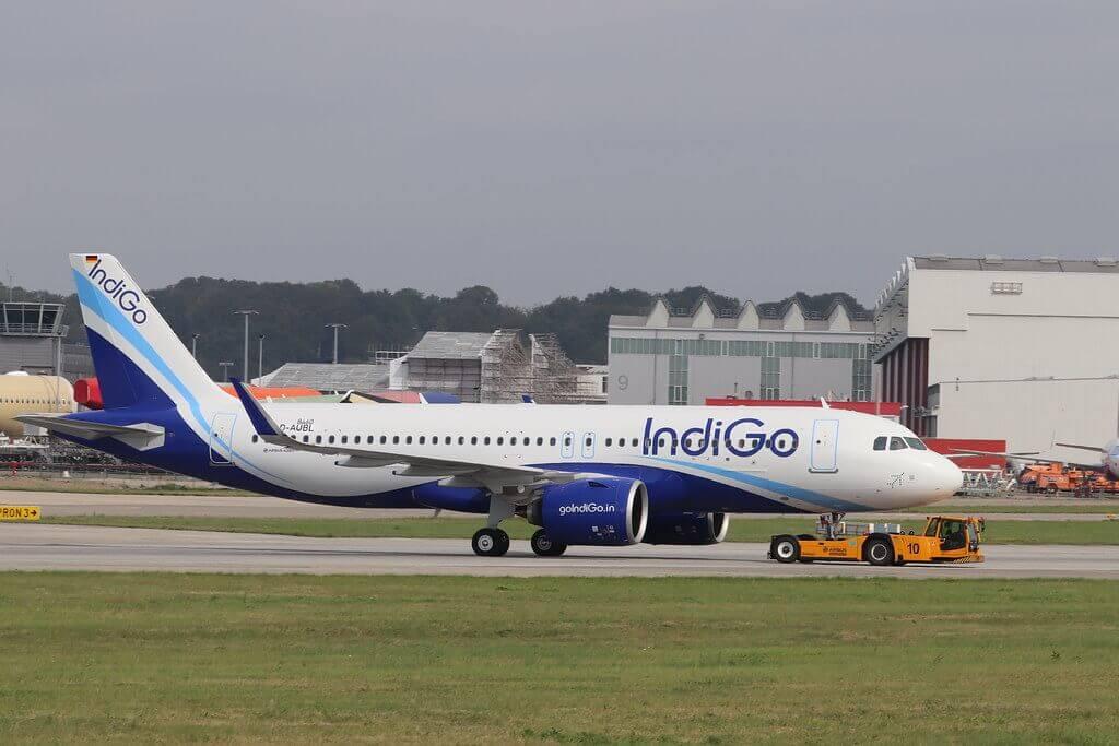 Airbus A320neo IndiGo VT IVY