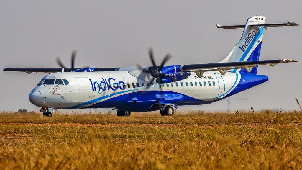 IndiGo ATR 72 600 VT IYB at Bangalore