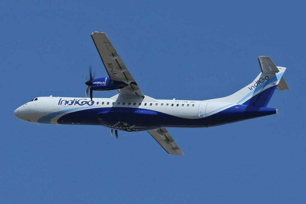 IndiGo ATR 72 600 VT IYK