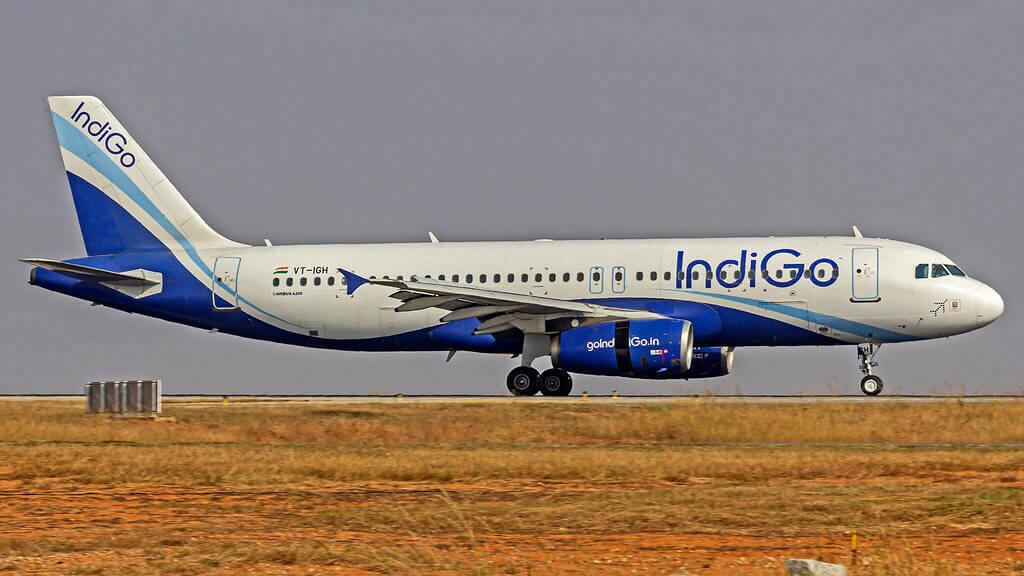 IndiGo Airbus A320 200 VT IGH at Bangalore
