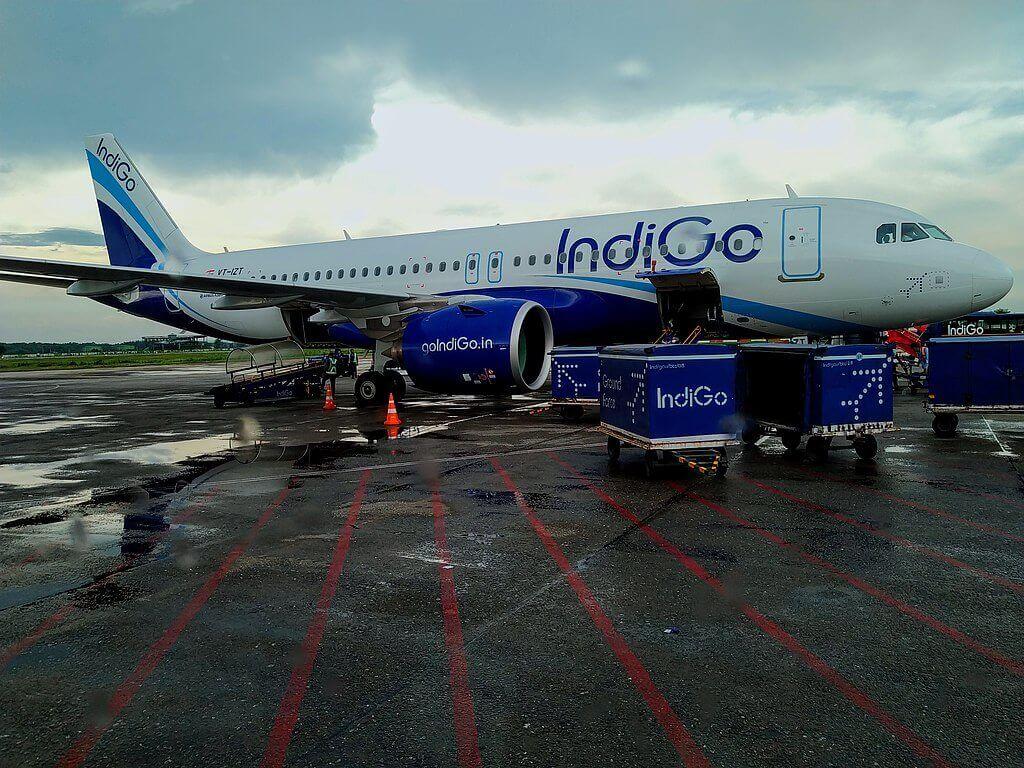 IndiGo Airbus A320neo VT ITZ at Lokpriya Gopinath Bordoloi International Airport