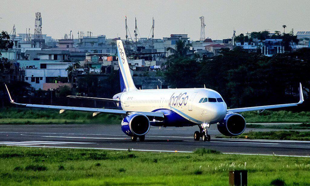 IndiGo Airlines VT IZI Airbus A320 271N