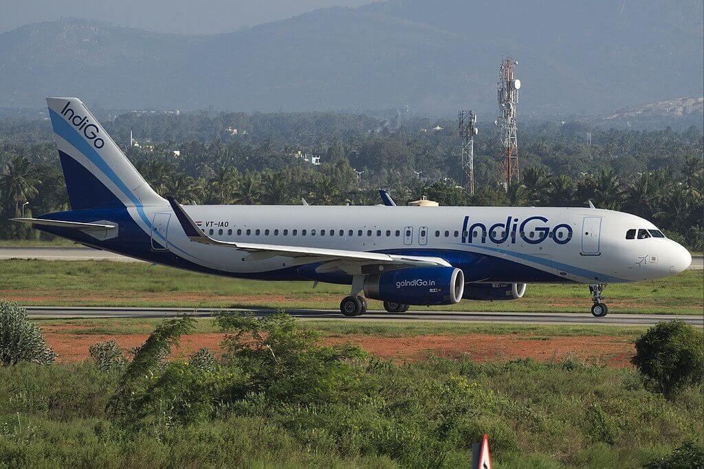 IndiGo VT IAO Airbus A320 200 at Bangalore Airport
