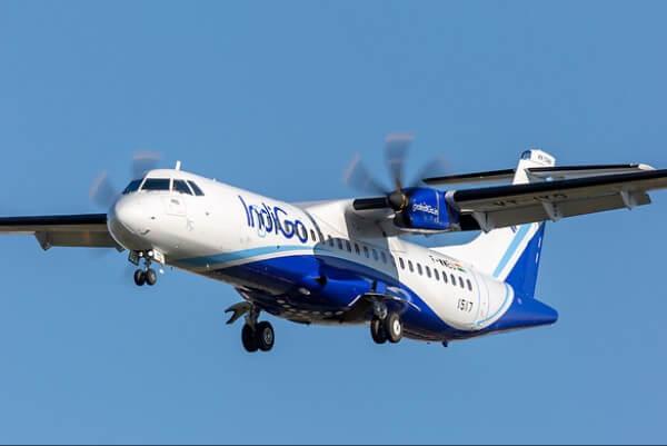IndiGo VT IYD ATR 72 600