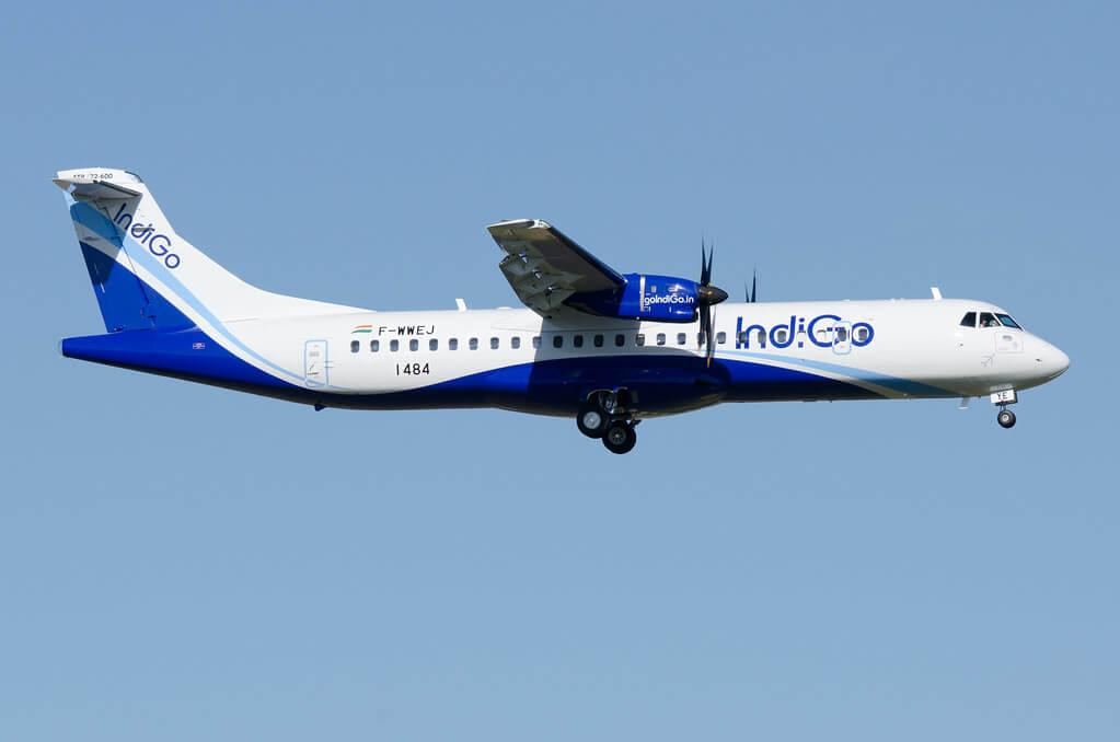 IndiGo VT IYE ATR 72 600
