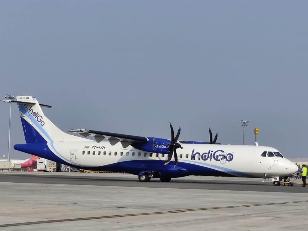 IndiGo VT IYH ATR 72 600