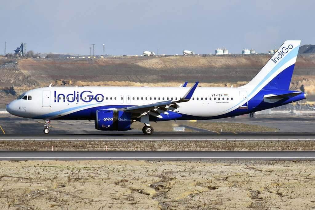 IndiGo VT IZX Airbus A320 271N at Istanbul Airport