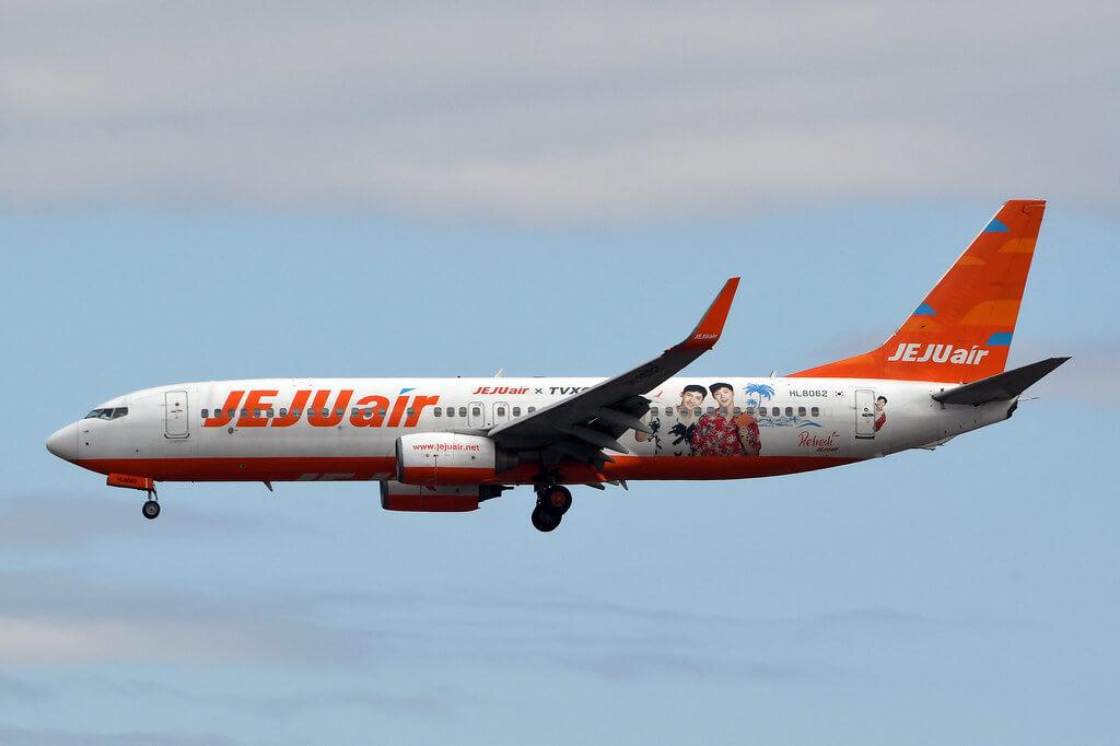 Jeju Air HL8062 Boeing 737 800 at Tokyo Narita