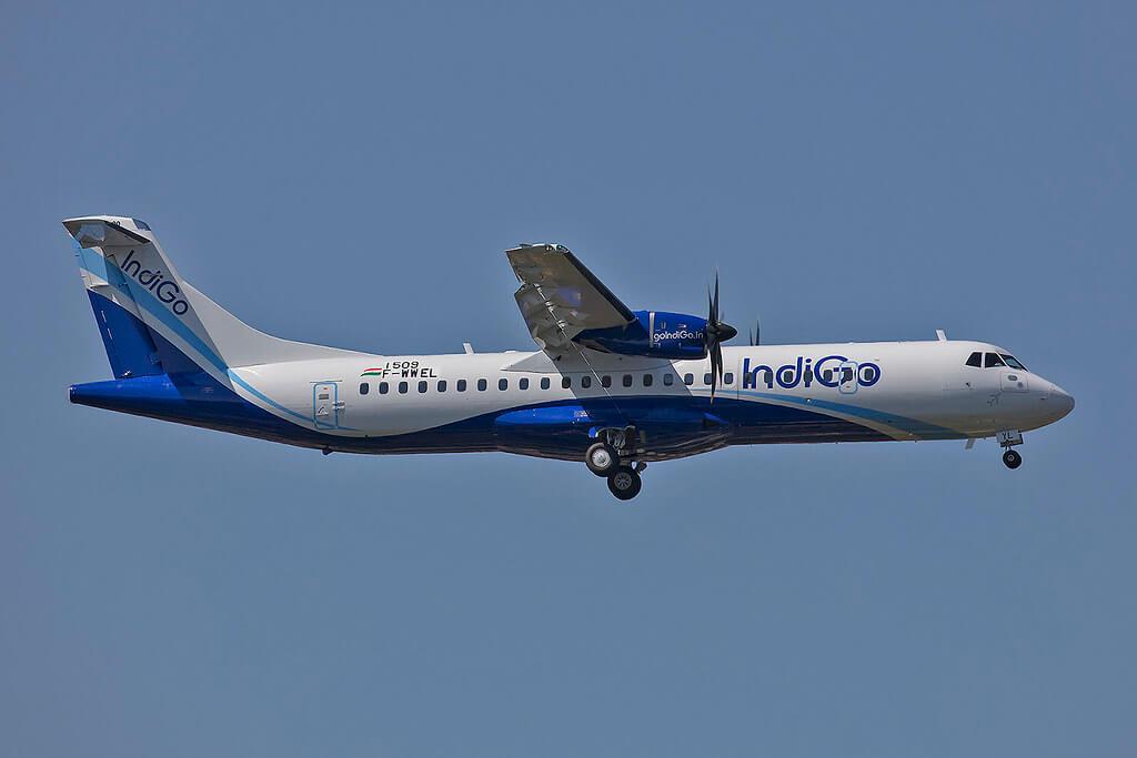VT IYL ATR72 600 Indigo at Toulouse