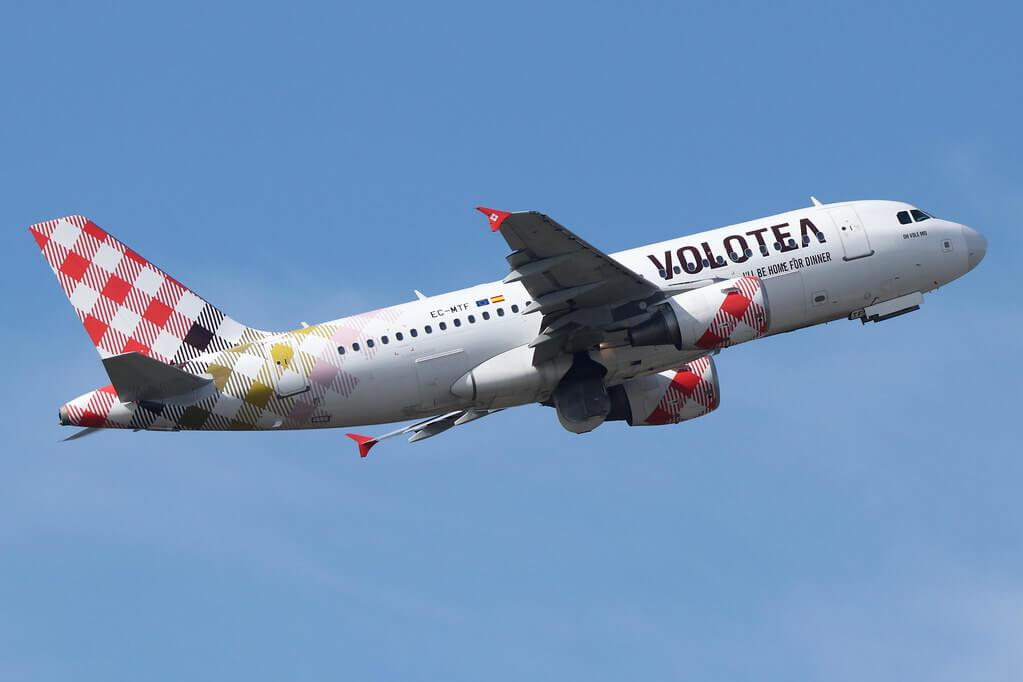 Airbus A319 111 Volotea EC MTF Oh Vole Mio at TLS