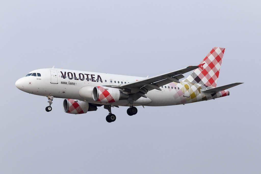 Airbus A319 112 EC MTN Volotea Han Volo at Lille Airport