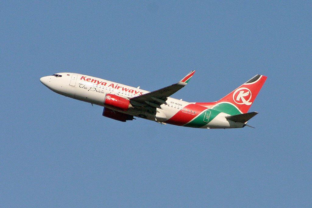 Boeing 737 7U8 5Y KQG Kenya Airways