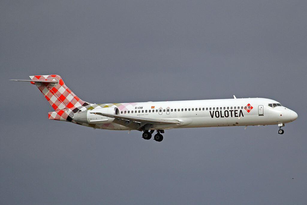 EI EXB Boeing 717 2BL Volotea at Palma de Mallorca Airport