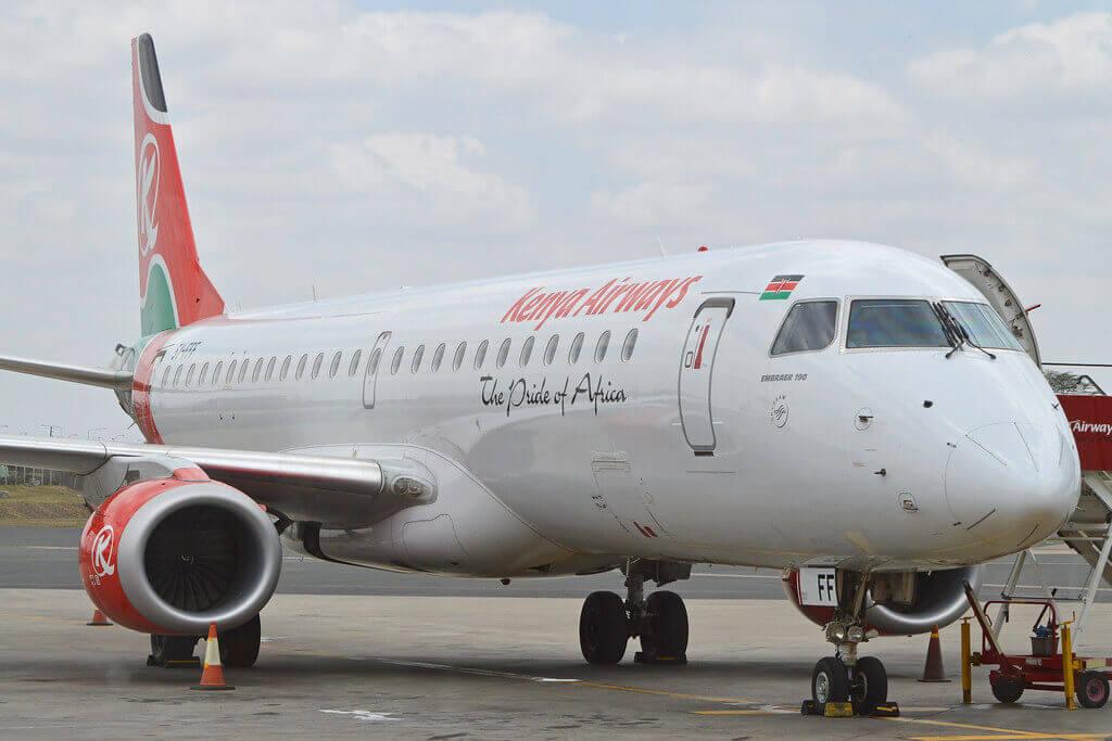 Kenya Airways 5Y FFF Embraer ERJ 190