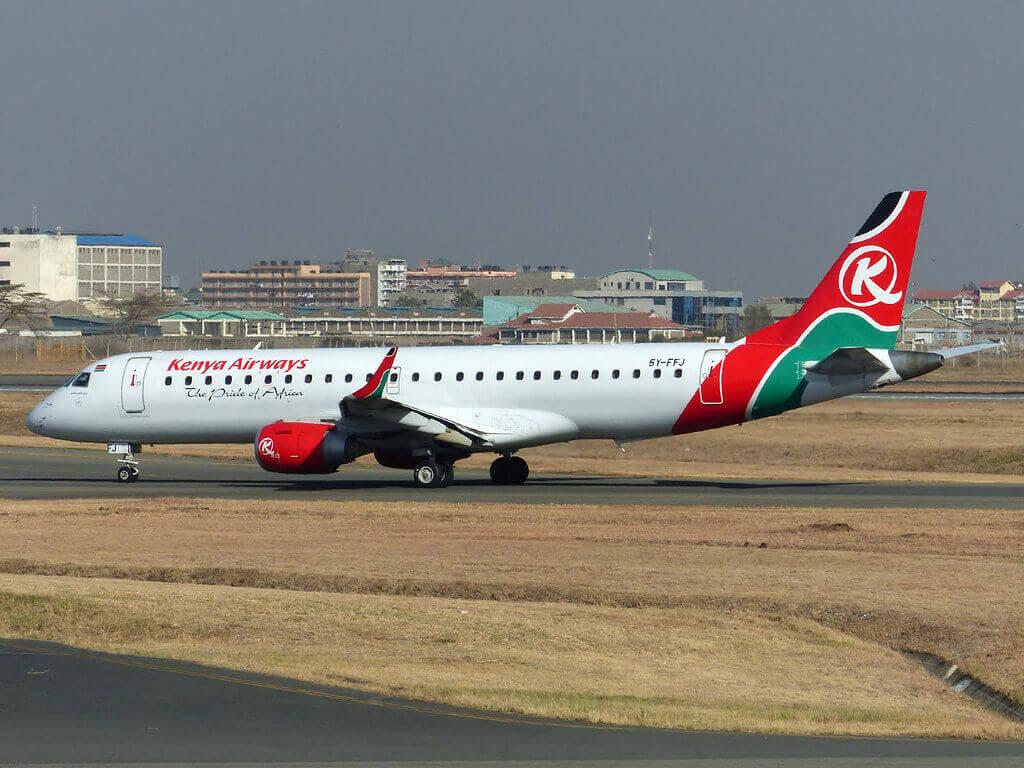 Kenya Airways 5Y FFJ Embraer ERJ 190