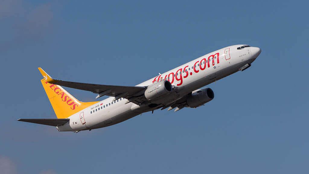 Pegasus Airlines Boeing 737 82R TC AIS Sevde Nil D at Munich Airport