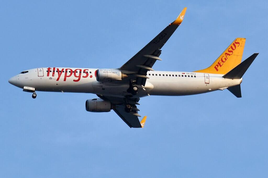 Pegasus Airlines TC CCJ Boeing 737 82R Yaren at Sabiha Gokcen International Airport