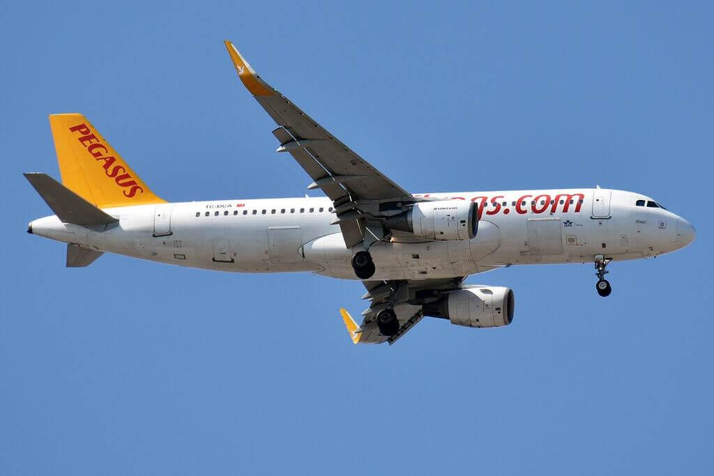 Pegasus Airlines TC DCA Airbus A320 214 Pinar at Sabiha Gokcen International Airport