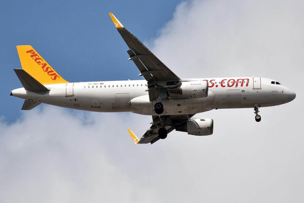 Pegasus Airlines TC DCI Airbus A320 214 Derya at Sabiha Gokcen International Airport