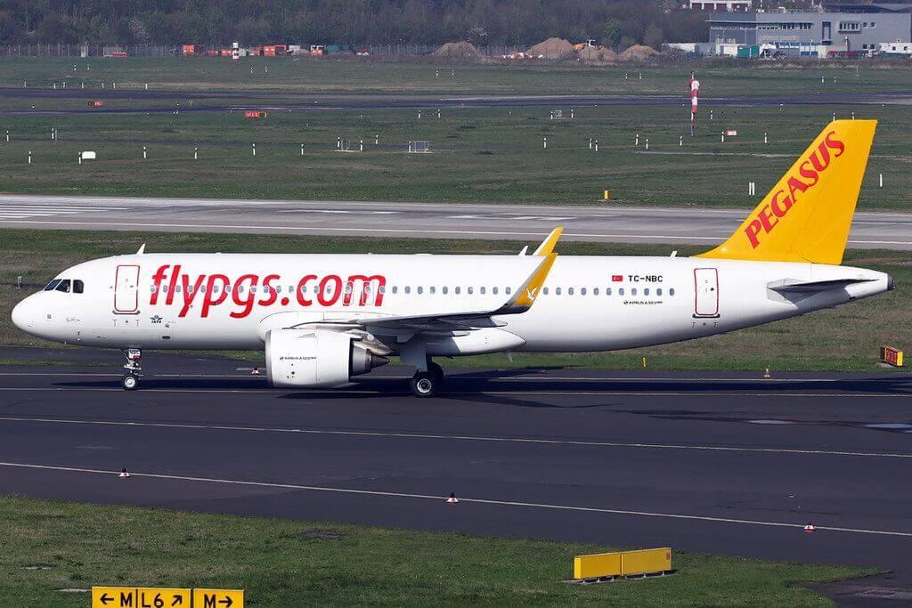 Pegasus Airlines TC NBC Airbus A320 251N Goksu at Schiphol Airport