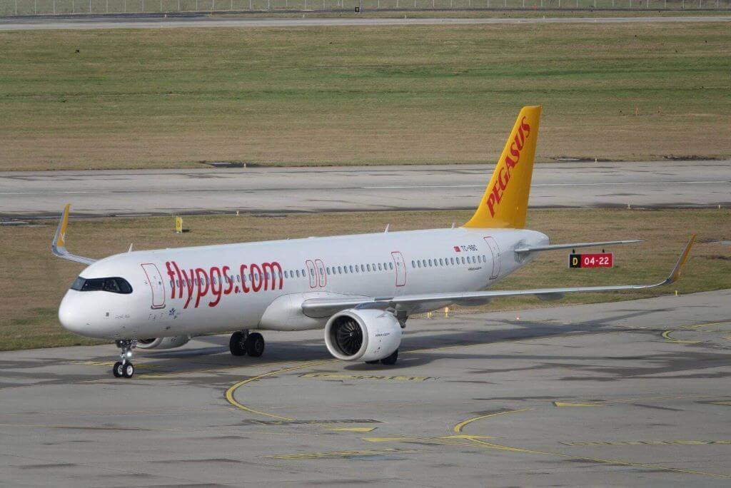Pegasus Airlines TC RBC Airbus A321neo Leyla Ada