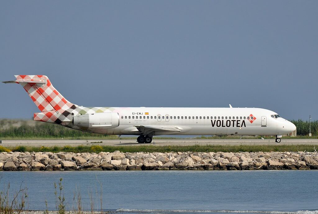 Volotea EI EWJ Boeing 717 2BL at Nice Cote dAzur Airport
