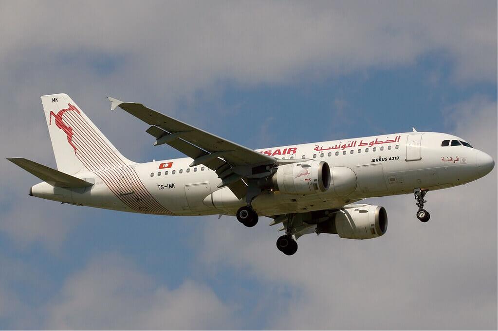 Airbus A319 100 Tunisair TS IMK Kerkennah قرقنة at Istanbul Ataturk Airport
