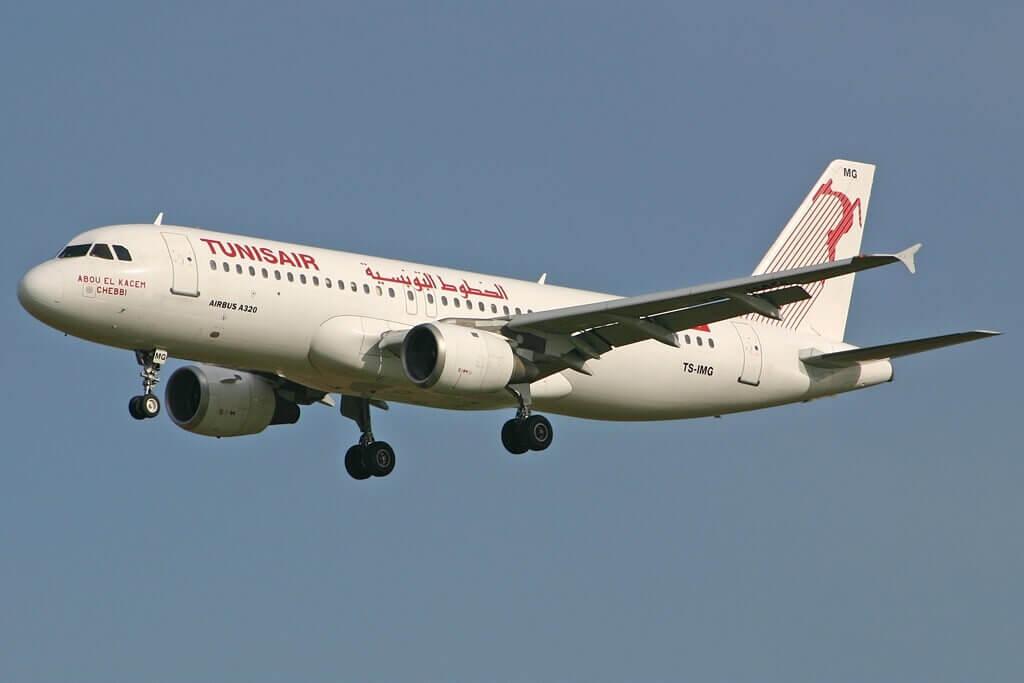 Airbus A320 211 Tunisair TS IMG Abou el Kacem Chebbi أبو القاسم الشابي at Brussels Airport