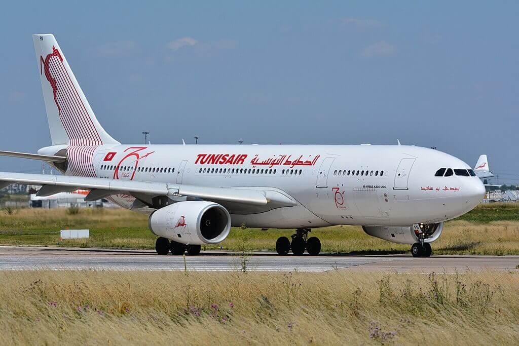 Airbus A330 200 TS IFN Tunisair Sidi Bou Said سيدي بو سعيد at Paris Orly Airport