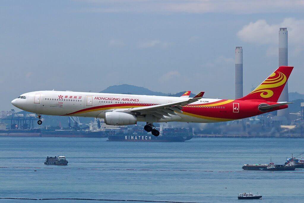 Airbus A330 300 B LNM Hong Kong Airlines at Hong Kong International Airport