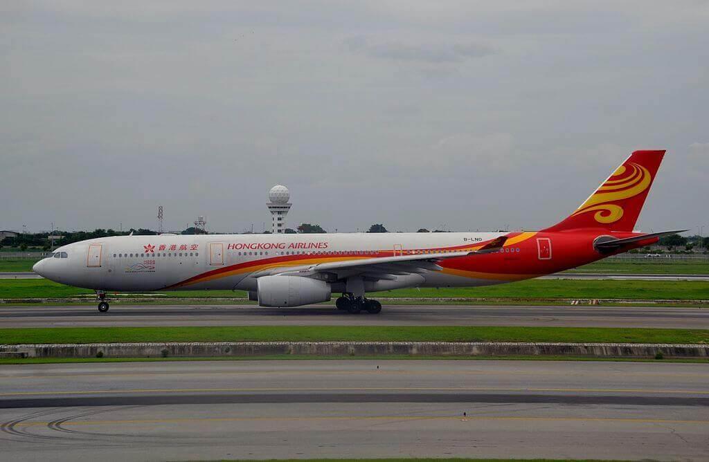 Airbus A330 300 B LNO Hong Kong Airlines at Suvarnabhumi International Airport