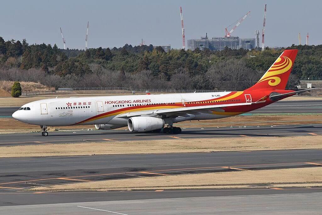 Airbus A330 343X B LNS Hong Kong Airlines at Narita International Airport