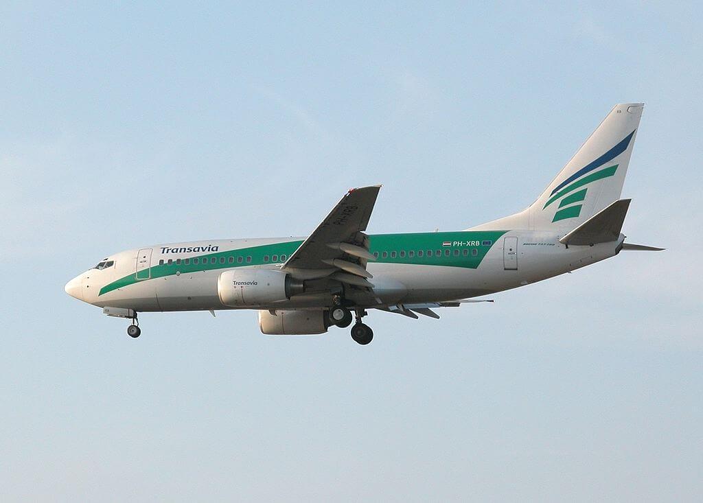Boeing 737 7K2 Transavia Airlines PH XRB at Almeria Airport