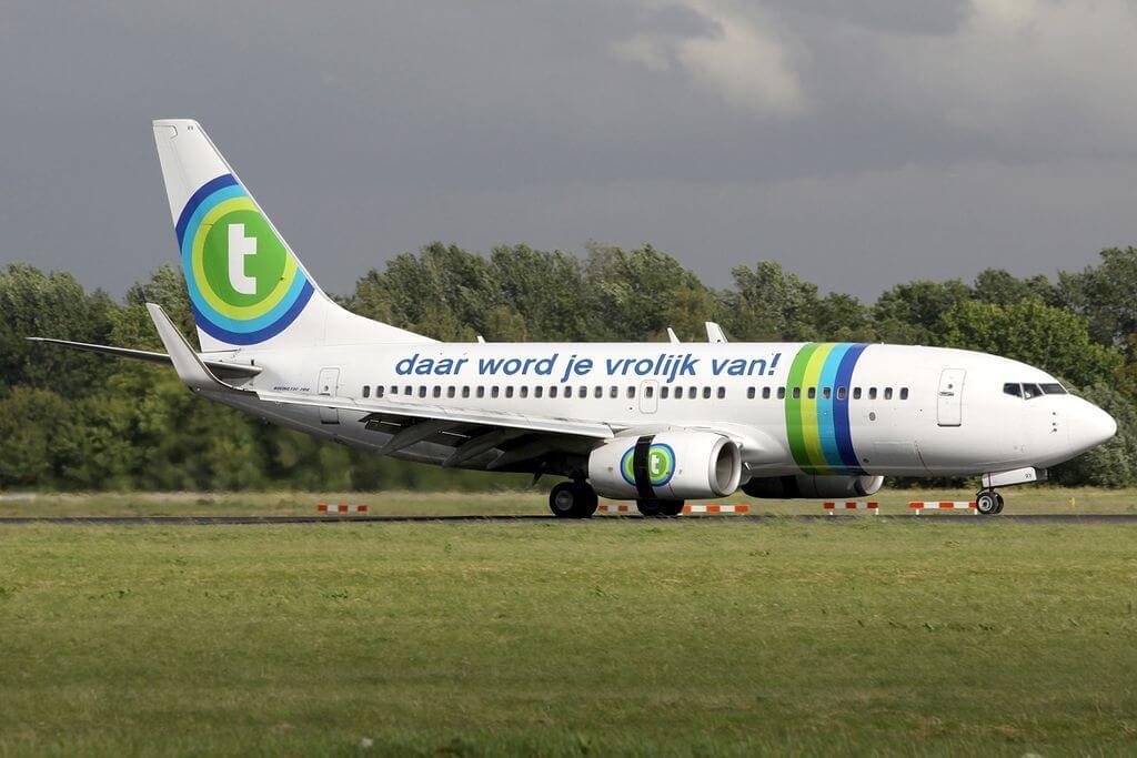 Boeing 737 7K2 Transavia Airlines PH XRX at Rotterdam The Hague Airport