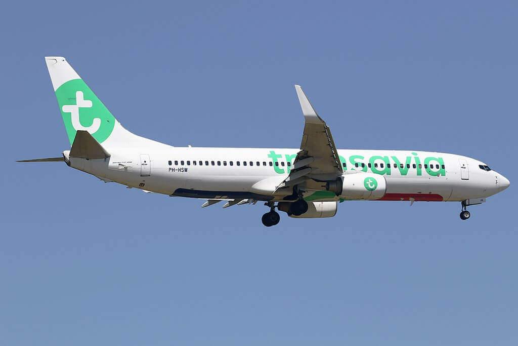 Boeing 737 800 PH HSW Transavia at EHAM Airport