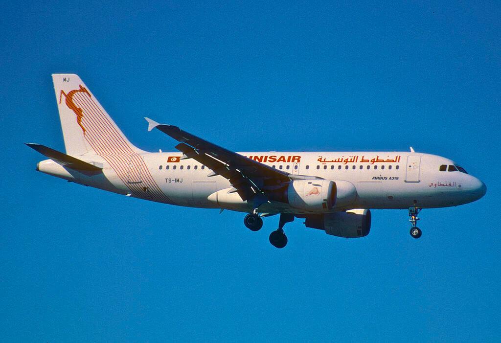 Tunisair Airbus A319 114 TS IMJ El Kantaoui القنطاوي at Zurich International Airport