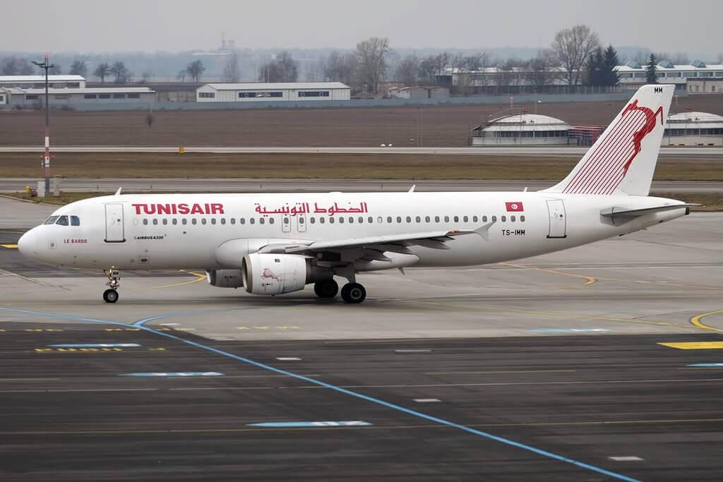 Tunisair TS IMM Airbus A320 211 Le Bardo باردو at Prague Ruzyne Airport