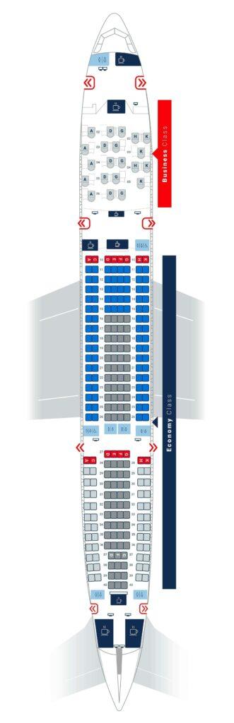 Air Serbia Airbus A330 200 Seating Chart Plan